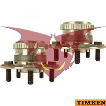 Timken Par Rodamiento de Cubo de Ruedas Traseras Fits Chrysler PT Cruiser 01-02