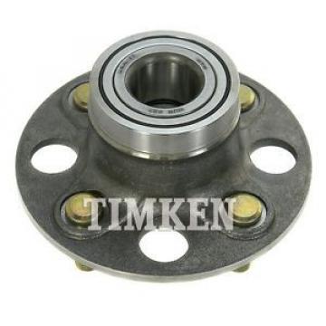 Timken Wheel and Hub Assembly Rear 512174 fits 01-05 Honda Civic