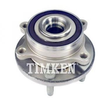 Timken Wheel and Hub Assembly fits 13-16 Ford Police Interceptor Sedan