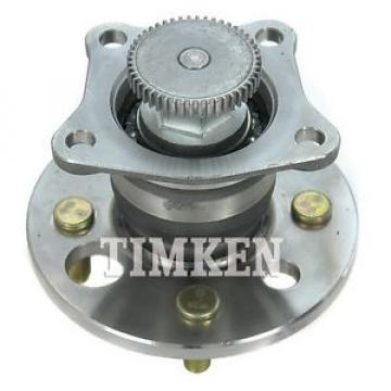 Timken Wheel and Hub Assembly Rear 512019