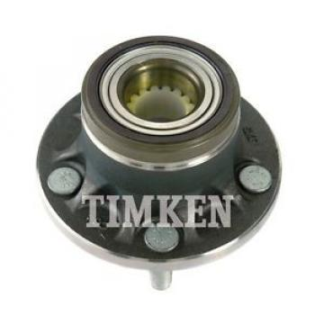 Timken Wheel and Hub Assembly Rear fits 10-13 Ford Transit Connect