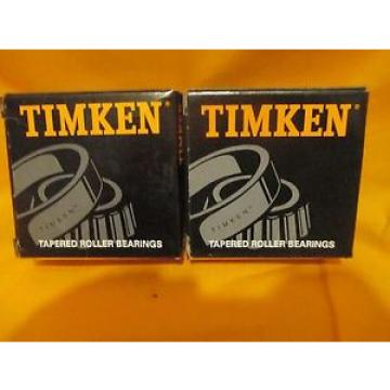 Timken  Set 406 Tapered Roller , l lot of 2