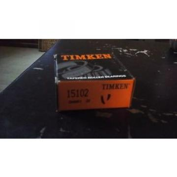 Timken  15102 tapered roller