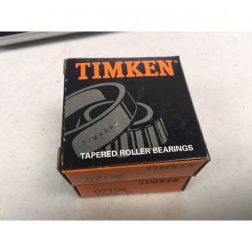 Timken  07196 TAPERED ROLLER S PKG 2