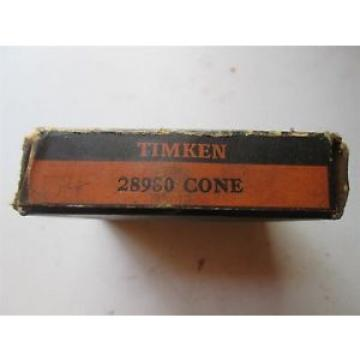 Timken  Tapered Roller Cone 28980