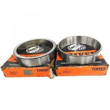 Timken LOT OF 2  39521 TAPERED ROLLER S CUP 0-8.0INCH BORE