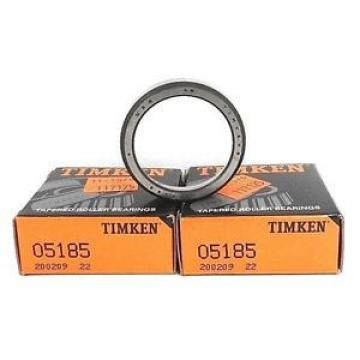 Timken LOT OF 2  05185 ROLLER CUPS TAPERED 11X47MM