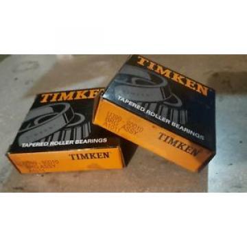 Timken Set of 2 in box U399-90010  Taper