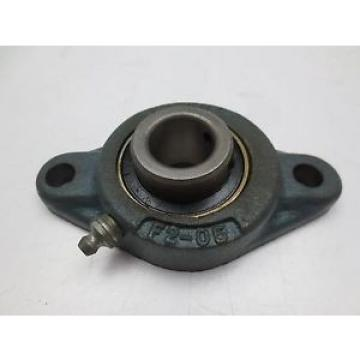 """McGill MB 25-7/8 Bearing Insert 7/8"""" ID With F2-05 Two Bolt Flange Mount"""