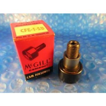 "McGill CFE 1 SB Stud Cam Follower 1"" Roller Diameter Hex Hole End"