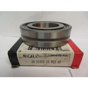 MCGILL SPHERE-ROL BEARING SB 22209 C3 W33 SS SB22209C3W33SS