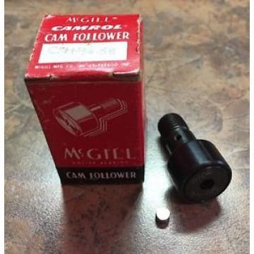 "McGill Roller Bearing CFH 3/4 SB Cam Follower 3/4"" Roller Diameter 7/16"" Stud"