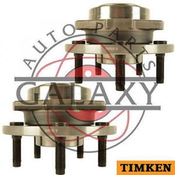 Timken  Pair Front Wheel Hub Assembly Fits Dodge Dakota 2005-2009