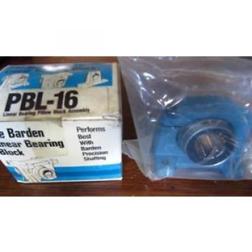 PBL-16 BARDEN Linear Bearing