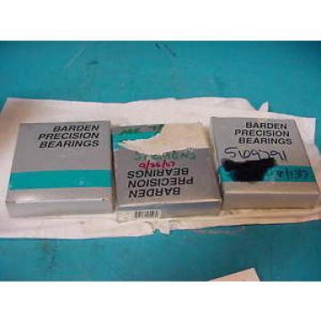 Barden Precision bearing 112HERRG81 3 Piece set