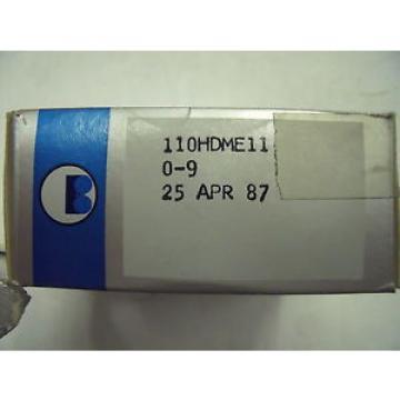 Barden 110HDME11 Precision Bearing set  2 bearings
