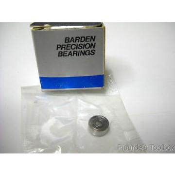 Lot  4 Barden 3 x 9.5 x 3.5 Precision Bearings, SR2-6SS3 0-11 N 21 M