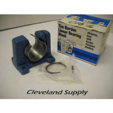 BARDEN OPB-16 PRECISION LINEAR BEARING PILLOW BLOCK UNIT CONDITION IN