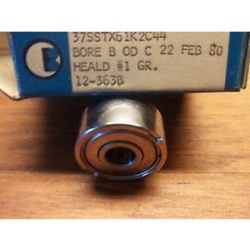 BARDEN 37SSTX61K2C44 BORE B OD C #1 GR. PRECISION BEARINGS