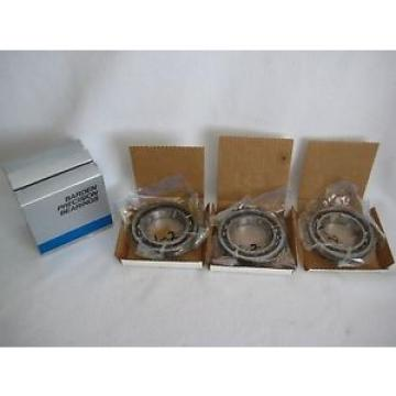 Barden Precision Bearings 114H Deep Grove Angular Contact Of 3 Sealed NOS