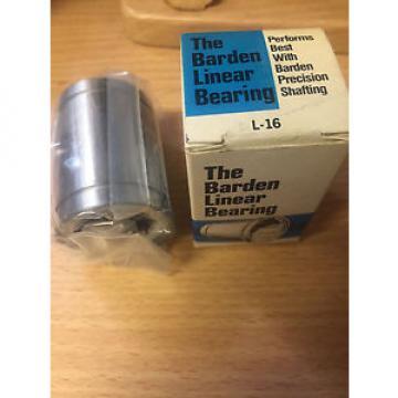 Barden Linear Bearing L-16