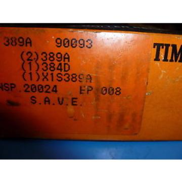 Timken  ASSEMBLY 389A 90093 ~  in box