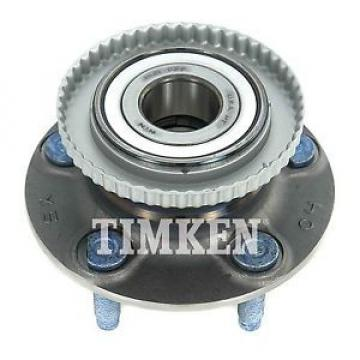Timken Axle Wheel And Hub Assembly- and Hub Assembly Rear