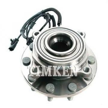 Timken Wheel and Hub Assembly Front HA590273