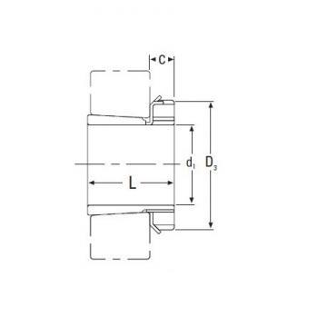 Timken  HA3064 Metric HA Adapter Sleeve for Inch Shaft