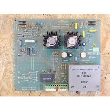 Siemens C98043-A1001-L5 10 Netzteil – Karte