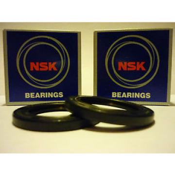 All kinds of faous brand Bearings and block KAWASAKI ZXR750 L1 93 L2 94 OEM SPEC NSK COMPLETE FRONT WHEEL BEARING & SEAL KIT