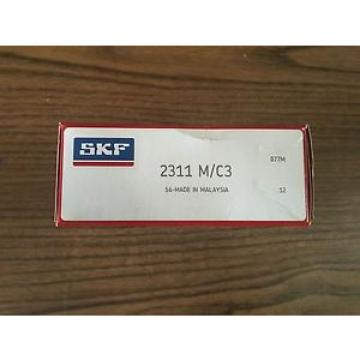 2311-M/C3 SKF,NSK,NTN,Timken SKF Double Row, Self Aligning Ball Bearing