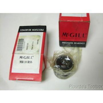 "Lot  2 McGill Cagerol MR-10-RSS Needle Bearings 5/8"" x 1-1/8"" x 1"""