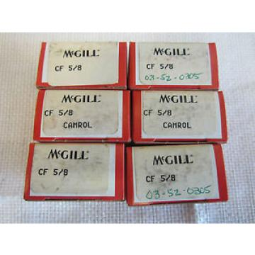 MCGILL CF 5/8 CAMROL 6 S