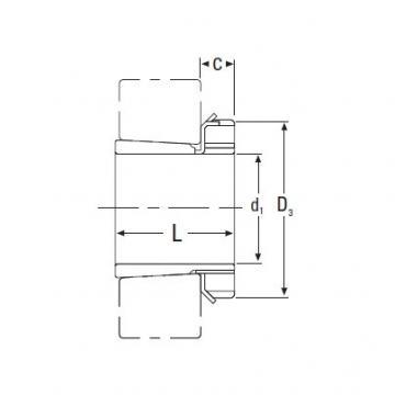 Timken  H322 Metric H Adapter Sleeve