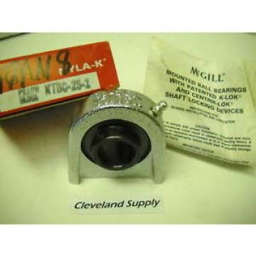 "MCGILL NTBC-25-1 NYLA-K PILLOWBLOCK BEARING 1"" BORE CONDITION IN"