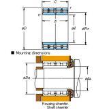 Four-row cylindrical roller bearings 170FC118650