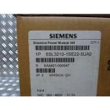 Siemens T3116 Sinamics Power Module 340 6SL3210-1SE22-5UA0 VC01
