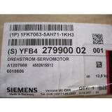 Siemens NEW 1FK7063-5AH71-1KH3 SERVO MOTOR