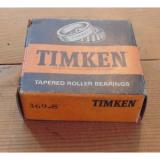 Timken  369-S Tapered Roller Made in USA 369S