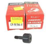 LOT OF 2 MCGILL CF-9/16-S CAMROL CAM FOLLOWER