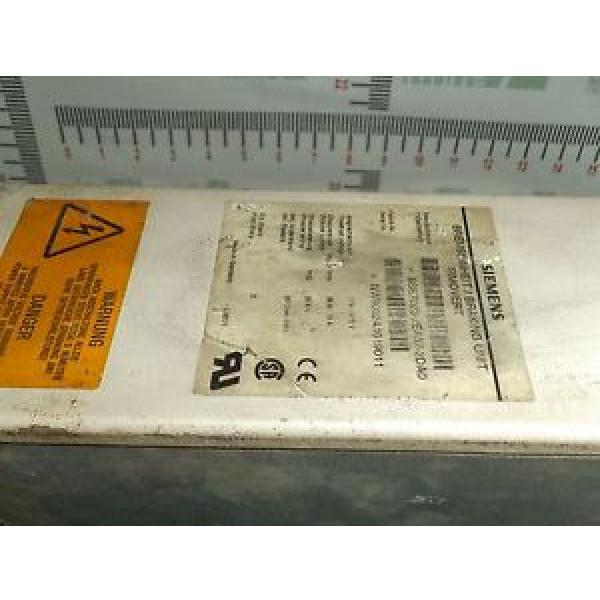 Original SKF Rolling Bearings Siemens Simovert 6SE7023-2EA87-2DA0 Breaking Unit  6SE70232EA872DA0 #3 image