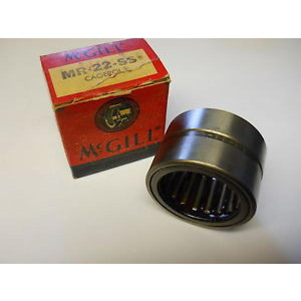 MCGILL MR-22-SS CAGEROL NEEDLE BEARING MR22SS NEW CONDITION IN BOX #1 image