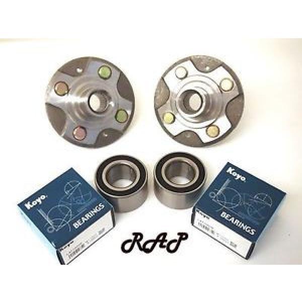 Front Wheel Hub & KOYO/NSK Bearing Assembly L/R Set HONDA CIVIC 2001-2005 Exc.Si #1 image