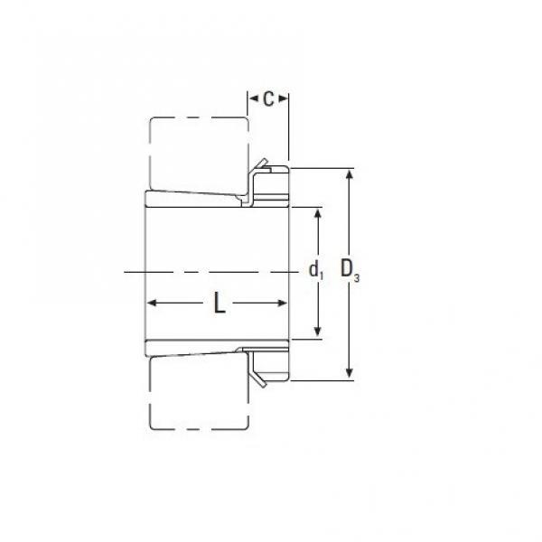 Timken  HA3064 Metric HA Adapter Sleeve for Inch Shaft #1 image