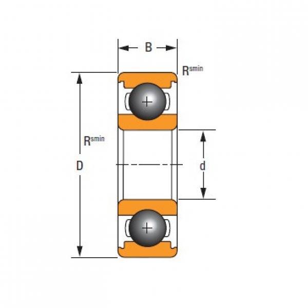 Original famous Timken  6211 Standard 6000 Series Deep Groove Ball Bearing #1 image