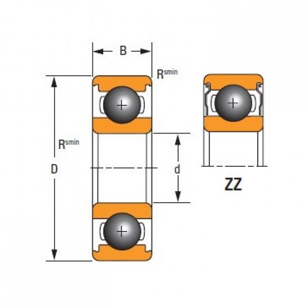 Timken  6212-ZZ-C3 Standard 6000 Series Deep Groove Ball Bearing #1 image