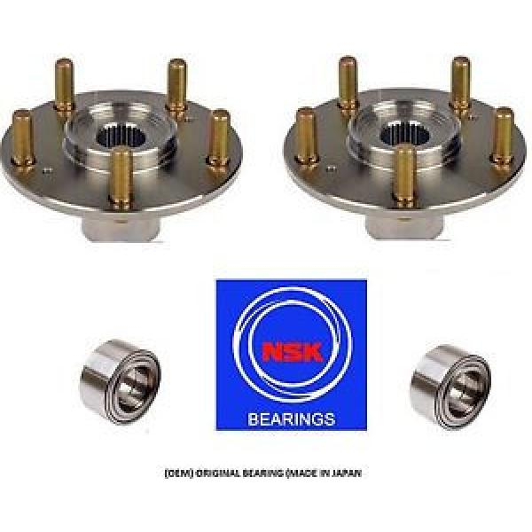 Front New and Original Wheel Hub & OEM NSK Bearing Kit fit HONDA CR-V 2007-2013 PAIR #1 image