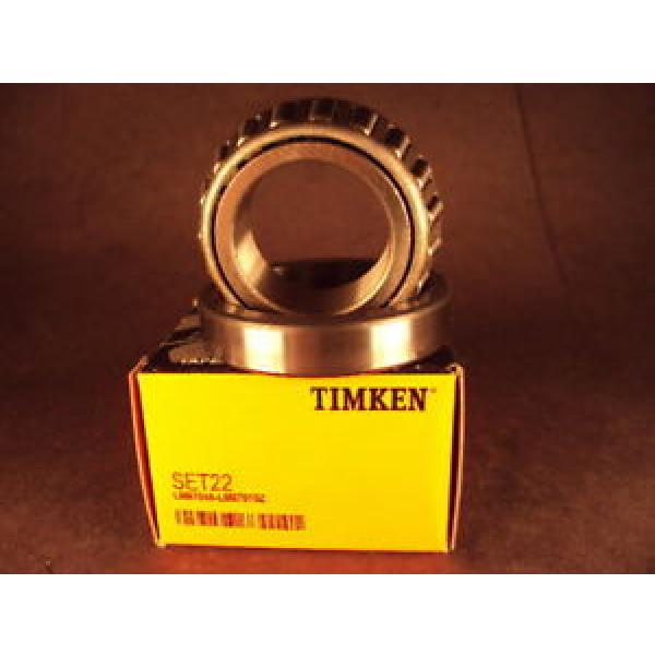 Timken  Set22, Set 22 LM67045/LM67010Z Cup & Cone #1 image