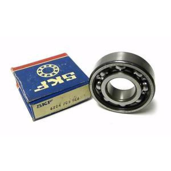 NEW SKF 6204 / C3 SHIELDED BALL BEARING 20 MM X 47 MM X 14 MM #1 image